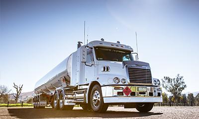 Hauling Fuel Made Safer with Freightliner