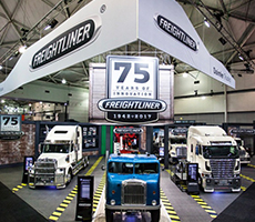 Freightliner celebrates 75 years at 2017 Brisbane Truck Show in style