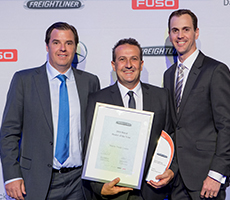 Freightliner's finest honoured at awards