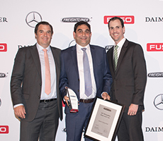 Freightliner's excellence awarded from East to West